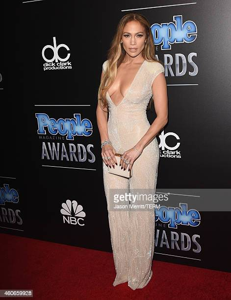 Singer/actress Jennifer Lopez attends the PEOPLE Magazine Awards at The Beverly Hilton Hotel on December 18 2014 in Beverly Hills California