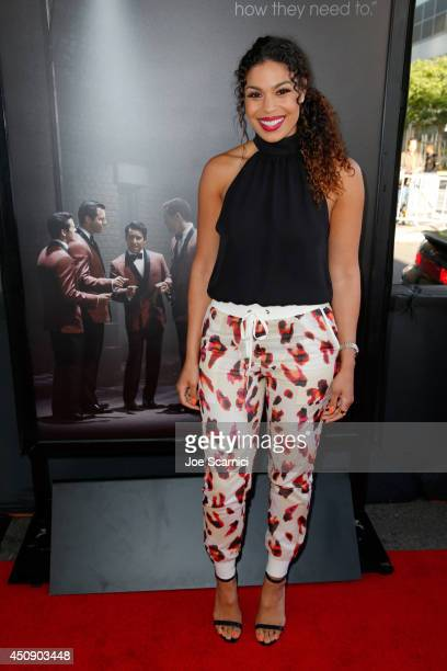 Singer/actress Jordin Sparks attends the closing night film premiere of 'Jersey Boys' during the 2014 Los Angeles Film Festival at Premiere House on...