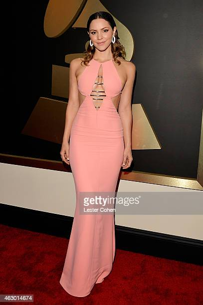 Singer/actress Katharine McPhee attends The 57th Annual GRAMMY Awards at the STAPLES Center on February 8 2015 in Los Angeles California