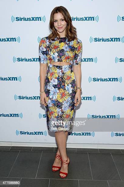 Singer/actress Katharine McPhee visits at SiriusXM Studios on June 18 2015 in New York City