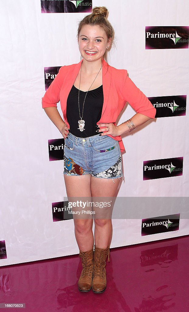 Singer/actress Laci Kay attends Katia Nicole's Rave Music Video release party on May 4, 2013 in Los Angeles, California.