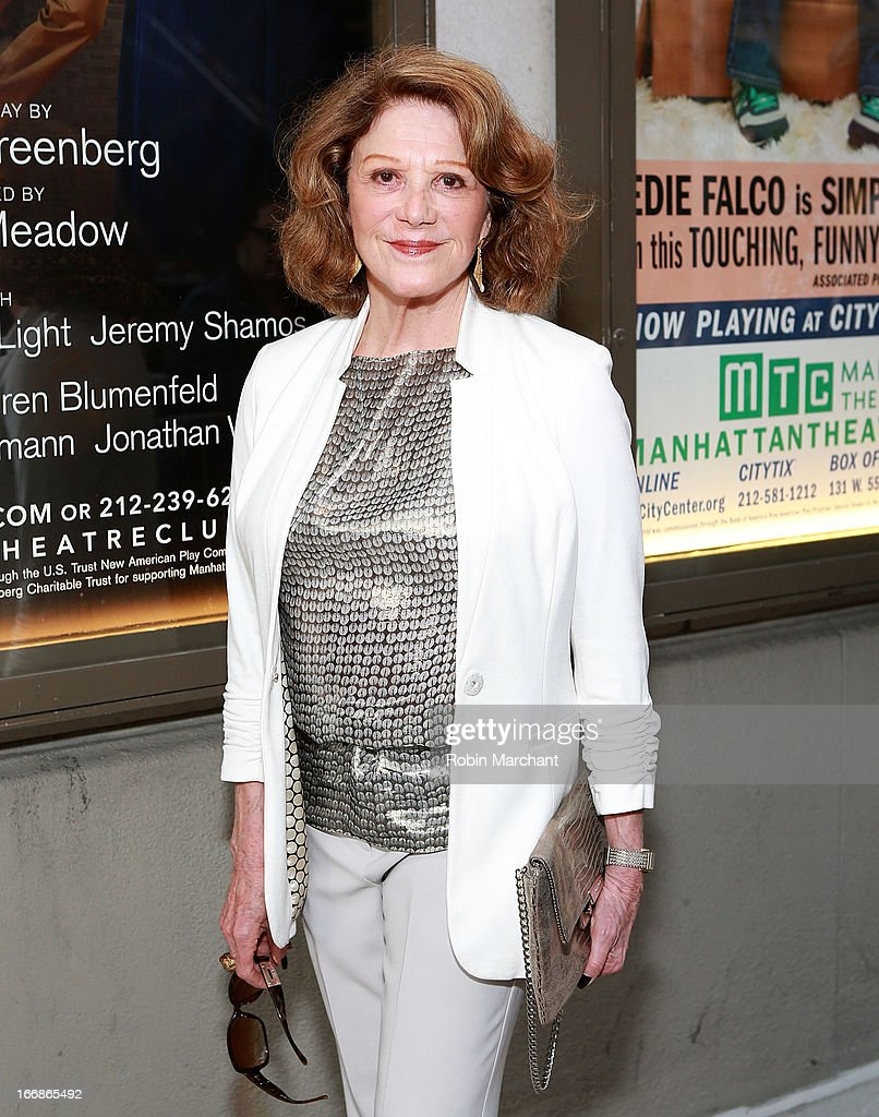 Singer/Actress Linda Lavin attends the 'The Assembled Parties' opening night at Samuel J. Friedman Theatre on April 17, 2013 in New York City.