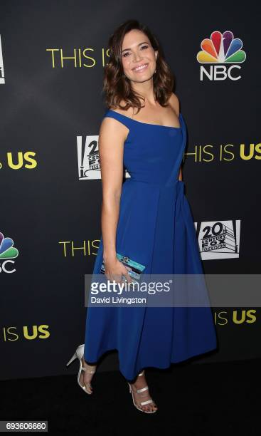 Singer/actress Mandy Moore attends 20th Century Fox Television NBC's 'This Is Us' FYC screening and panel at The Cinerama Dome on June 7 2017 in Los...