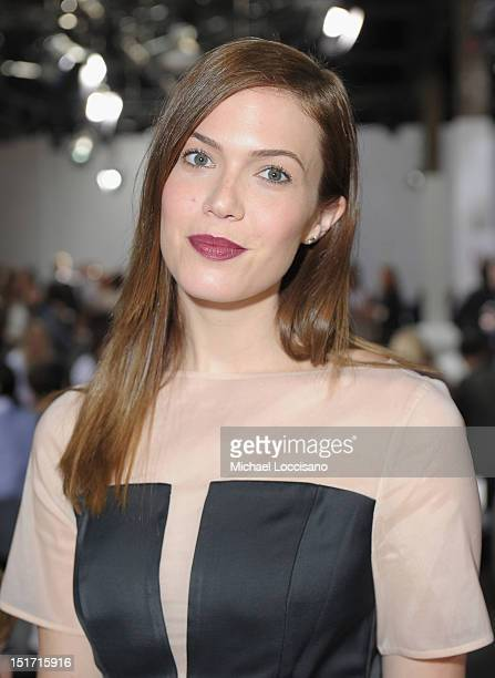 Singer/actress Mandy Moore attends 31 Phillip Lim Spring 2013 at 360 West 33rd Street on September 10 2012 in New York City