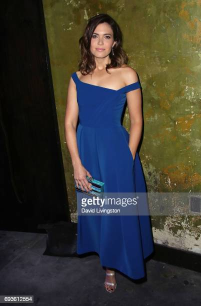 Singer/actress Mandy Moore purse detail attends 20th Century Fox Television NBC's 'This Is Us' FYC screening and panel at The Cinerama Dome on June 7...