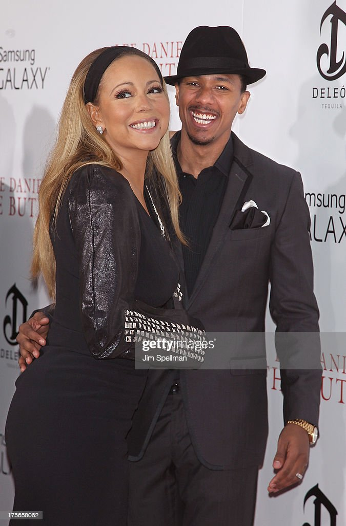 Singer/actress Mariah Carey and actor/tv personality Nick Cannon attend Lee Daniels' 'The Butler' New York Premiere at Ziegfeld Theater on August 5, 2013 in New York City.