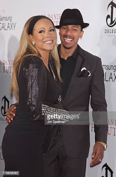 Singer/actress Mariah Carey and actor/tv personality Nick Cannon attend Lee Daniels' 'The Butler' New York Premiere at Ziegfeld Theater on August 5...