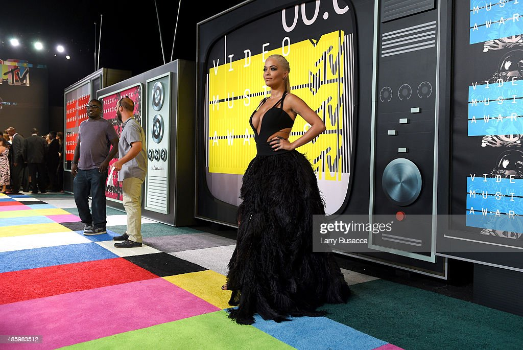 Singer/actress Rita Ora attends the 2015 MTV Video Music Awards at Microsoft Theater on August 30, 2015 in Los Angeles, California.