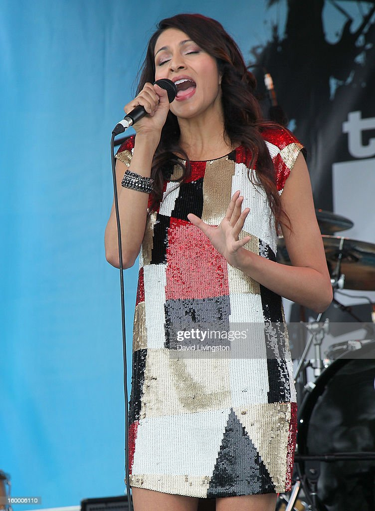 Singer/actress Tinsel Korey performs the 2013 NAMM Show - Day 1 at the Anaheim Convention Center on January 24, 2013 in Anaheim, California.