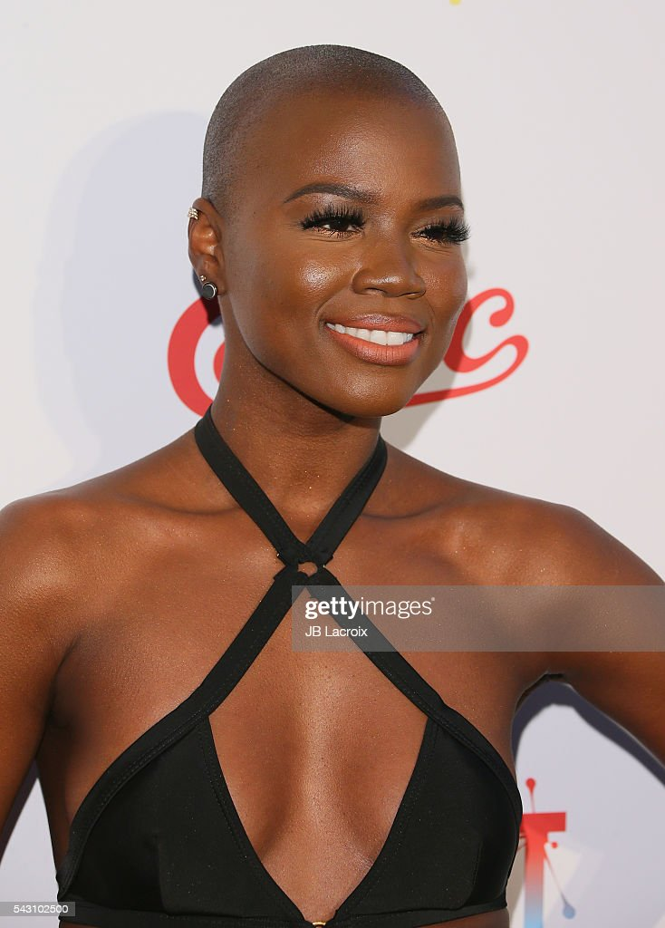Singer/actress V. Bozeman attends EpicFest 2016 hosted by L.A. Reid and Epic Records at Sony Studios on June 25, 2016 in Los Angeles, California.