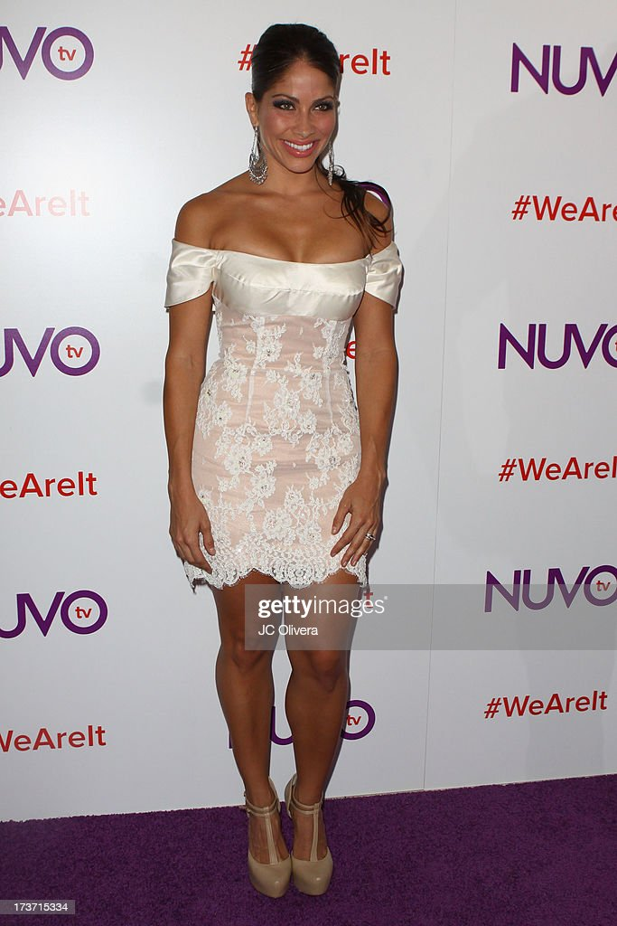 Singer/actress <a gi-track='captionPersonalityLinkClicked' href=/galleries/search?phrase=Valery+Ortiz&family=editorial&specificpeople=642267 ng-click='$event.stopPropagation()'>Valery Ortiz</a> attends NUVOtv Network Launch Party at The London West Hollywood on July 16, 2013 in West Hollywood, California.