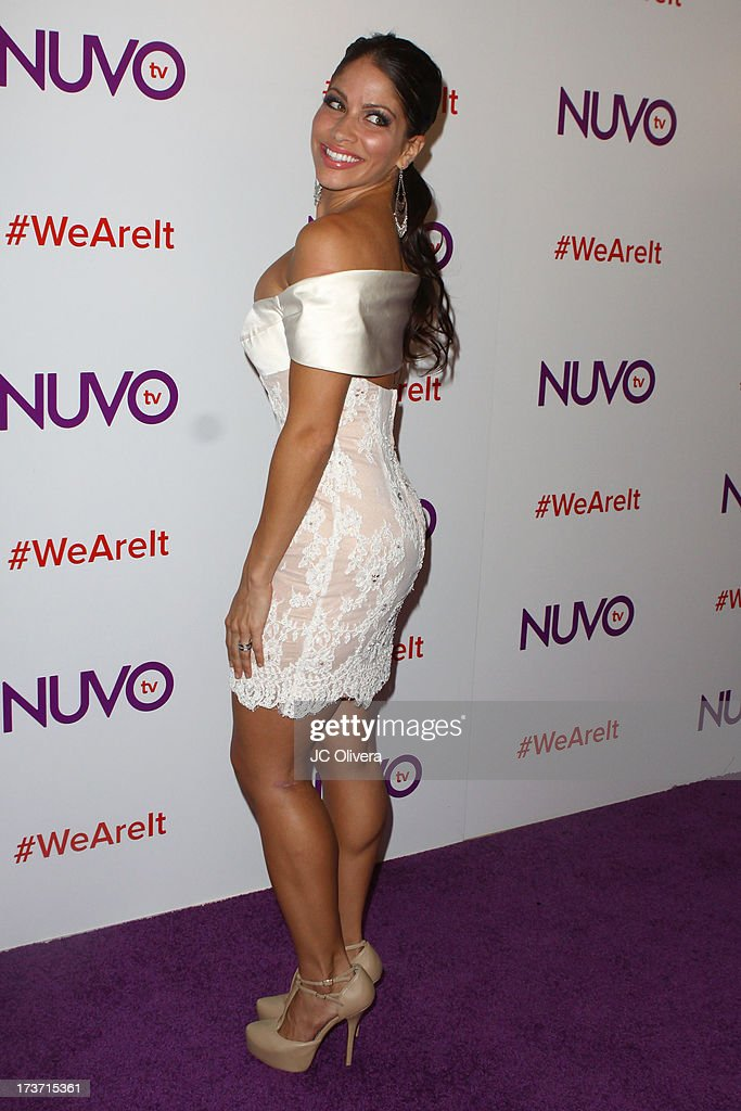 Singer/actress Valery Ortiz attends NUVOtv Network Launch Party at The London West Hollywood on July 16, 2013 in West Hollywood, California.