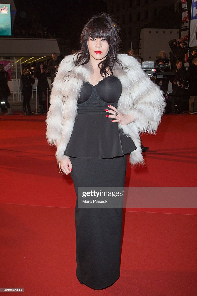 SingerAlex Hepburn attends the 15th NRJ Music Awards at Palais des Festivals on December 14, 2013 in Cannes, France.