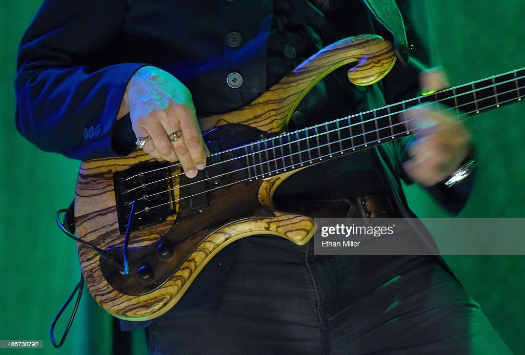 Singer/bassist Les Claypool of Primus performs at The Joint inside the Hard Rock Hotel Casino on September 4 2015 in Las Vegas Nevada