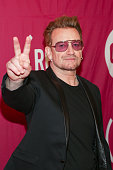 Singer/cofounder of ONE and Bono attends ONE and 's 'It Always Seems Impossible Until It Is Done' event held at Carnegie Hall on December 1 2015 in...
