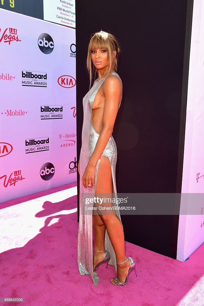 Singer/cohost Ciara attends the 2016 Billboard Music Awards at TMobile Arena on May 22 2016 in Las Vegas Nevada