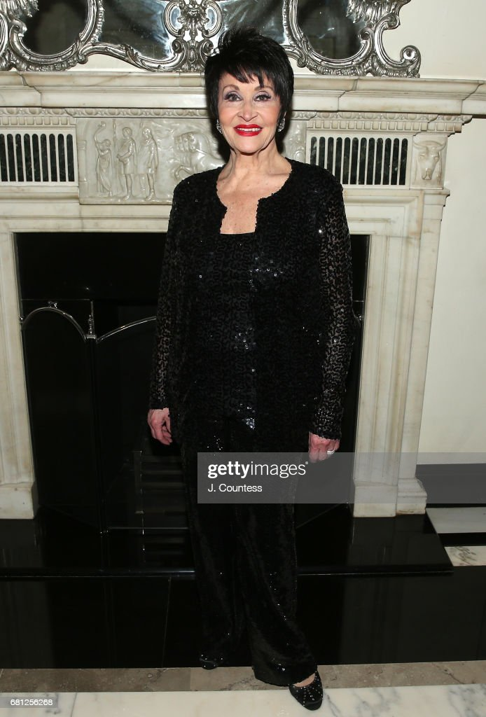 Singer/dancer Chita Rivera poses for a photo at Cafe Carlyle on May 9, 2017 in New York City.