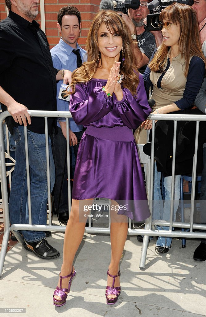 Singer/dancer Paula Abdul arrives at the first round of auditions for Fox's 'The X Factor' at Galen Center on May 8, 2011 in Los Angeles, California.