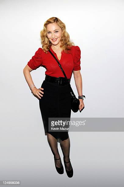 Singer/director Madonna is photographed for Self Assignment on September 12 2011 in Toronto Ontario
