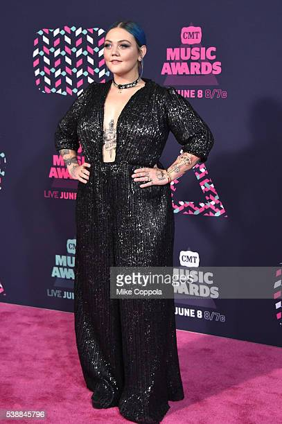 Singeresongwriter Elle King attends the 2016 CMT Music awards at the Bridgestone Arena on June 8 2016 in Nashville Tennessee