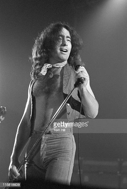 Paul Rodgers of Bad Company during Bad Company Performs at Atlanta Municipal Auditorium May 11 1975 at Atlanta Municipal Auditorium in Atlanta...