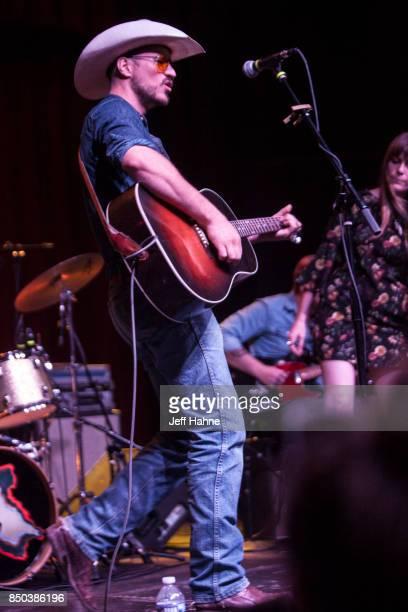 Singer/guitarist Blake Berglund performs at Neighborhood Theatre on September 20 2017 in Charlotte North Carolina