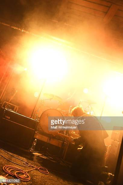 Singer/guitarist Britt Daniel of Spoon performs during the Spoon SXSW Residency 2017 SXSW Conference and Festivals on March 16 2017 in Austin Texas