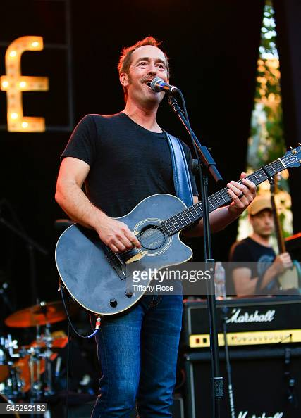 Singer/guitarist Emerson Hart of the band Tonic performs onstage at Citi Presents Plain White T's at the Grove's 2016 Summer Concert Series at The...