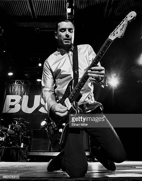 Singer/guitarist Gavin Rossdale of Bush performs during X1075's Holiday Havoc 2014 show at The Joint inside the Hard Rock Hotel Casino on December 12...