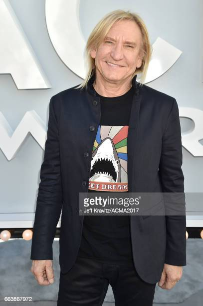 Singer/guitarist Joe Walsh attends the 52nd Academy Of Country Music Awards at Toshiba Plaza on April 2 2017 in Las Vegas Nevada