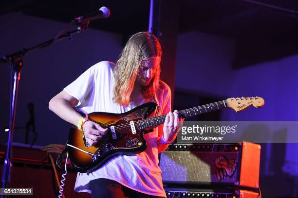 Singer/guitarist Stephen Scholz of Two Lips performs during the Spoon SXSW Residency 2017 SXSW Conference and Festivals on March 16 2017 in Austin...