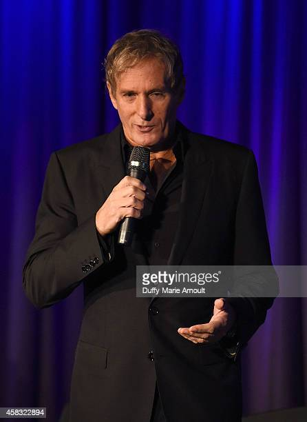 Singer/Host Michael Bolton speaks at Celebrating Rodney Dangerfield at The GRAMMY Museum on November 2 2014 in Los Angeles California
