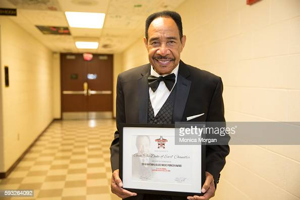 Singer/Inductee Gene Chandler attends the 4th Annual Rhythm Blues Music Hall Of Fame Induction Ceremony in Metro Detroit on August 21 2016 in Detroit...