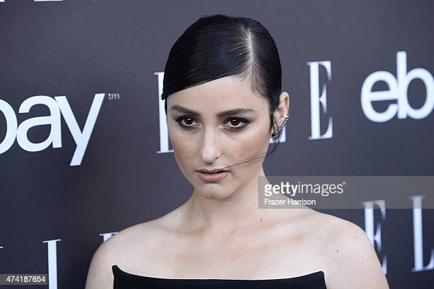 SingerJillian Banks arrives at the 6th Annual ELLE Women In Music Celebration Presented By eBayat Boulevard3 on May 20 2015 in Hollywood California