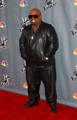 Singer/Judge CeeLo Green arrives at the 'The Voice' Season 5 Top 12 Event at Universal Studios Hollywood on November 7 2013 in Universal City...