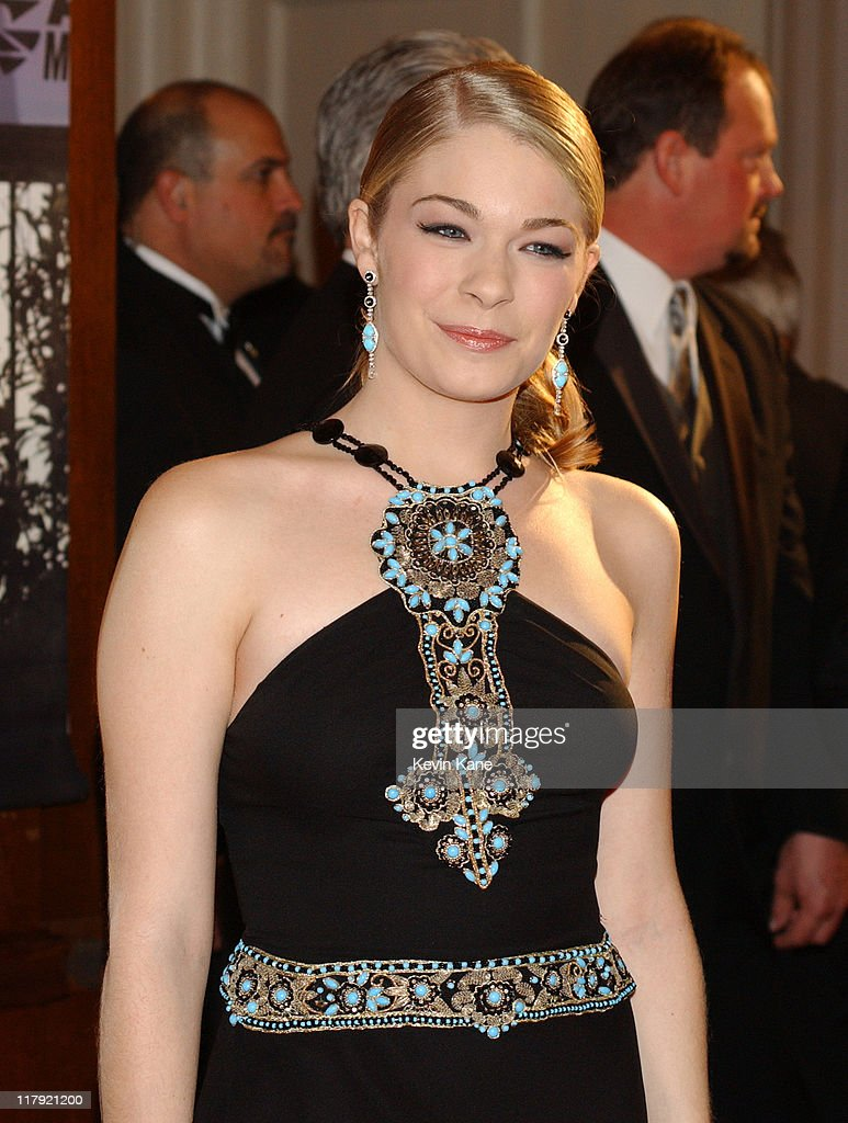 SingerLeAnn Rimes during The 2003 NASCAR Winston Cup Series Awards Ceremony Celebrity Arrivals at Waldorf Astoria in New York City New York United...