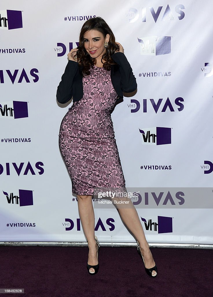 Singer/model Mayra Veronica attends 'VH1 Divas' 2012 at The Shrine Auditorium on December 16, 2012 in Los Angeles, California.