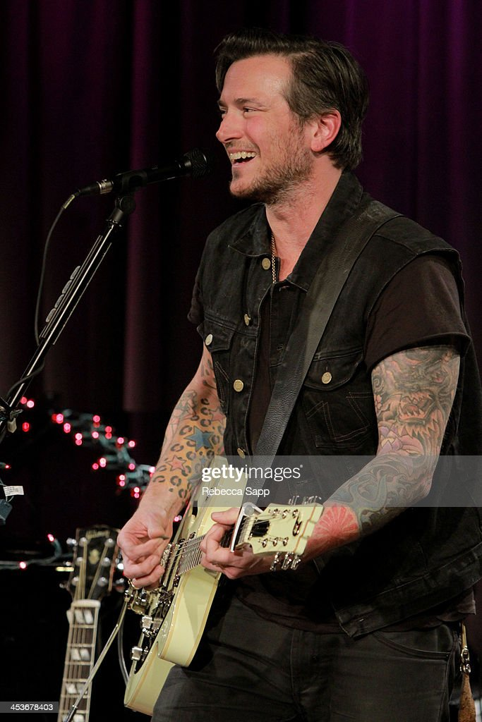 Singer/musician <a gi-track='captionPersonalityLinkClicked' href=/galleries/search?phrase=Butch+Walker&family=editorial&specificpeople=2219190 ng-click='$event.stopPropagation()'>Butch Walker</a> performs at An Evening With <a gi-track='captionPersonalityLinkClicked' href=/galleries/search?phrase=Butch+Walker&family=editorial&specificpeople=2219190 ng-click='$event.stopPropagation()'>Butch Walker</a> at The GRAMMY Museum on December 4, 2013 in Los Angeles, California.