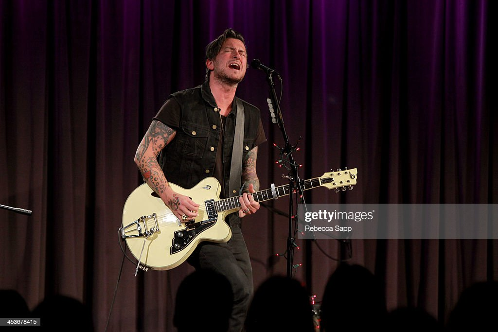 Singer/musician Butch Walker performs at An Evening With Butch Walker at The GRAMMY Museum on December 4, 2013 in Los Angeles, California.
