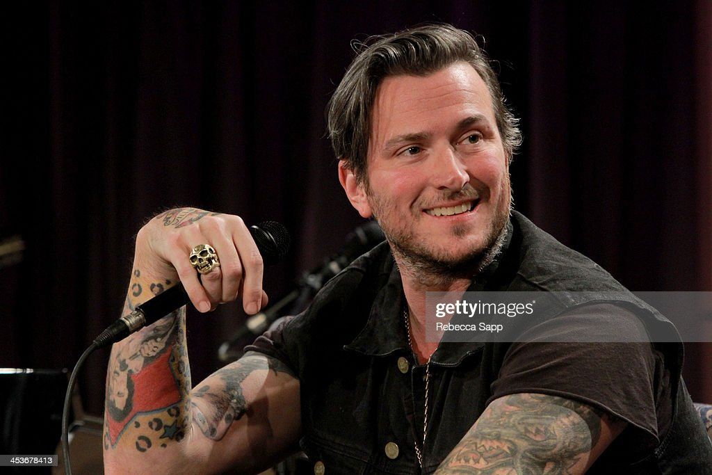 Singer/musician <a gi-track='captionPersonalityLinkClicked' href=/galleries/search?phrase=Butch+Walker&family=editorial&specificpeople=2219190 ng-click='$event.stopPropagation()'>Butch Walker</a> speaks onstage at An Evening With <a gi-track='captionPersonalityLinkClicked' href=/galleries/search?phrase=Butch+Walker&family=editorial&specificpeople=2219190 ng-click='$event.stopPropagation()'>Butch Walker</a> at The GRAMMY Museum on December 4, 2013 in Los Angeles, California.