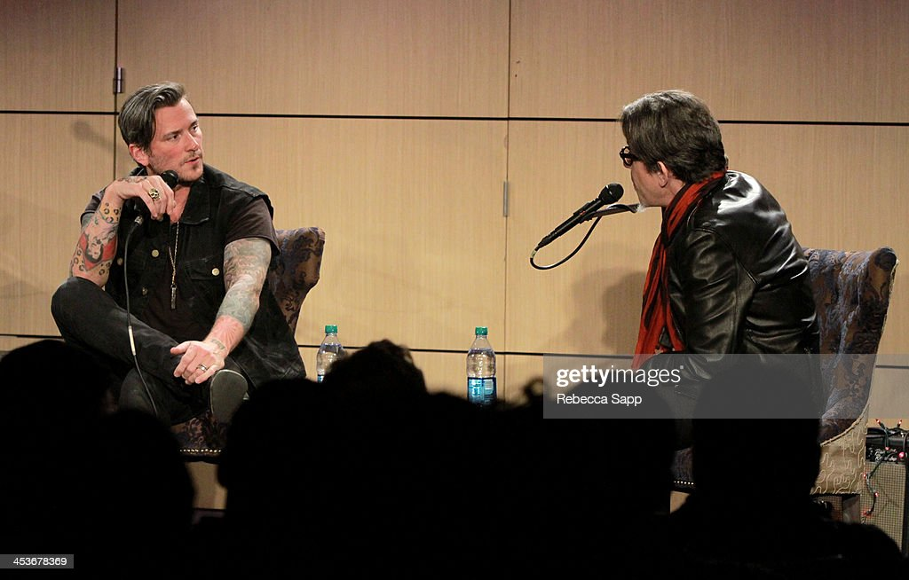 Singer/musician Butch Walker speaks with Vice President of the GRAMMY Foundation Scott Goldman at An Evening With Butch Walker at The GRAMMY Museum on December 4, 2013 in Los Angeles, California.