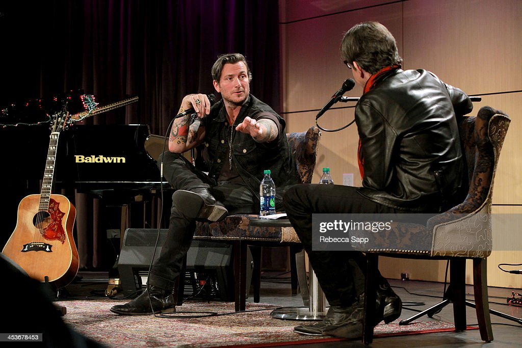 Singer/musician <a gi-track='captionPersonalityLinkClicked' href=/galleries/search?phrase=Butch+Walker&family=editorial&specificpeople=2219190 ng-click='$event.stopPropagation()'>Butch Walker</a> speaks with Vice President of the GRAMMY Foundation Scott Goldman at An Evening With <a gi-track='captionPersonalityLinkClicked' href=/galleries/search?phrase=Butch+Walker&family=editorial&specificpeople=2219190 ng-click='$event.stopPropagation()'>Butch Walker</a> at The GRAMMY Museum on December 4, 2013 in Los Angeles, California.