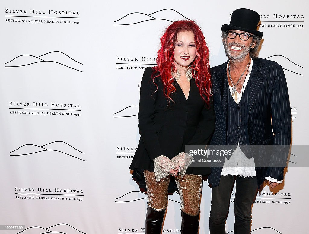 Singer/musician <a gi-track='captionPersonalityLinkClicked' href=/galleries/search?phrase=Cyndi+Lauper&family=editorial&specificpeople=171290 ng-click='$event.stopPropagation()'>Cyndi Lauper</a> and Jonny Podell attend the 2013 Silver Hospital gala at Cipriani 42nd Street on November 20, 2013 in New York City.