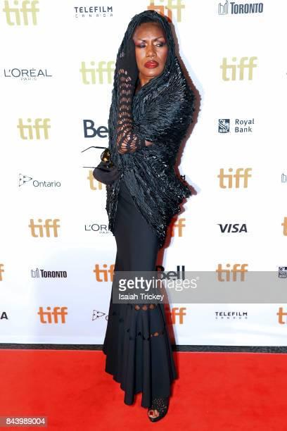 Singer/musician Grace Jones attends the 'Grace Jones Bloodlight And Bami' premiere during the 2017 Toronto International Film Festival at The Elgin...