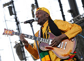 Singer/musician Jimmy Cliff performs at Dick's Sporting Goods Park on August 15 2010 in Commerce City Colorado