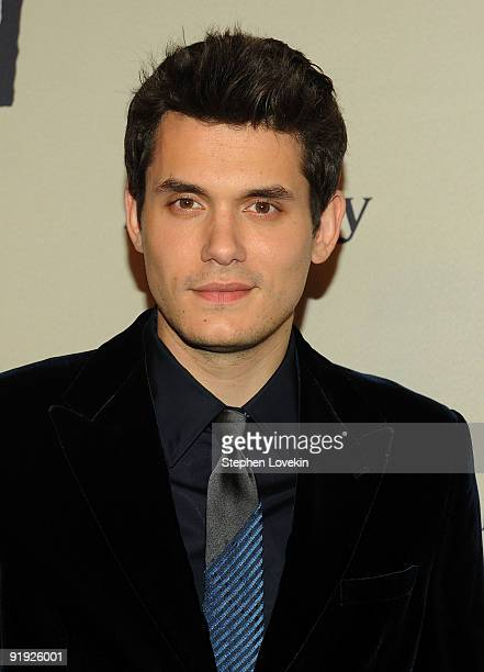 Singer/musician John Mayer attends Keep A Child Alive�s 6th Annual Black Ball at Hammerstein Ballroom on October 15 2009 in New York City