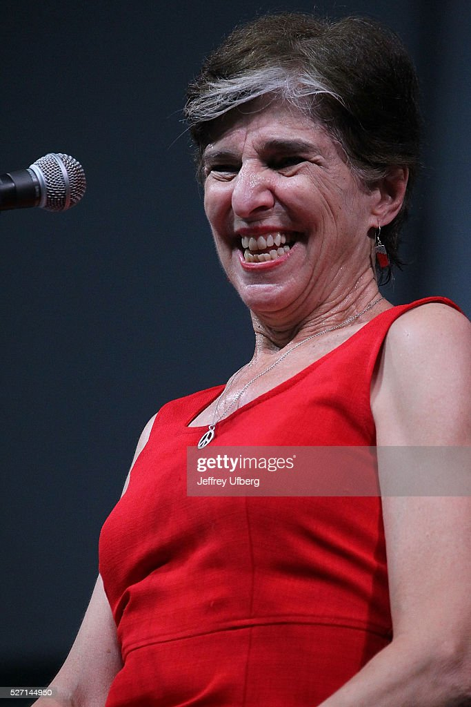 Singer/Musician <a gi-track='captionPersonalityLinkClicked' href=/galleries/search?phrase=Marcia+Ball&family=editorial&specificpeople=649876 ng-click='$event.stopPropagation()'>Marcia Ball</a> performs at Fair Grounds Race Course on May 1, 2016 in New Orleans, Louisiana.