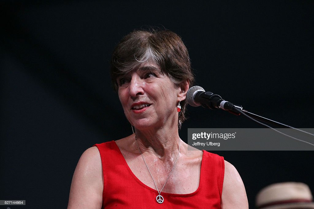 Singer/Musician Marcia Ball performs at Fair Grounds Race Course on May 1, 2016 in New Orleans, Louisiana.