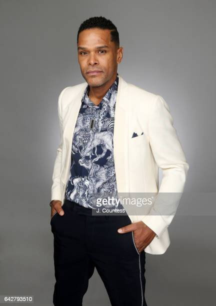 Singer/musician Maxwell poses for a portrait for BET's 2017 American Black Film Festival Honors Awards at The Beverly Hilton Hotel on February 17...