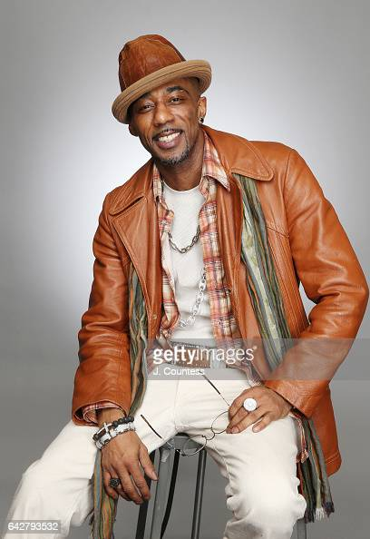 Singer/musician Ralph Tresvant poses for a portrait for BET's 2017 American Black Film Festival Honors Awards at The Beverly Hilton Hotel on February...